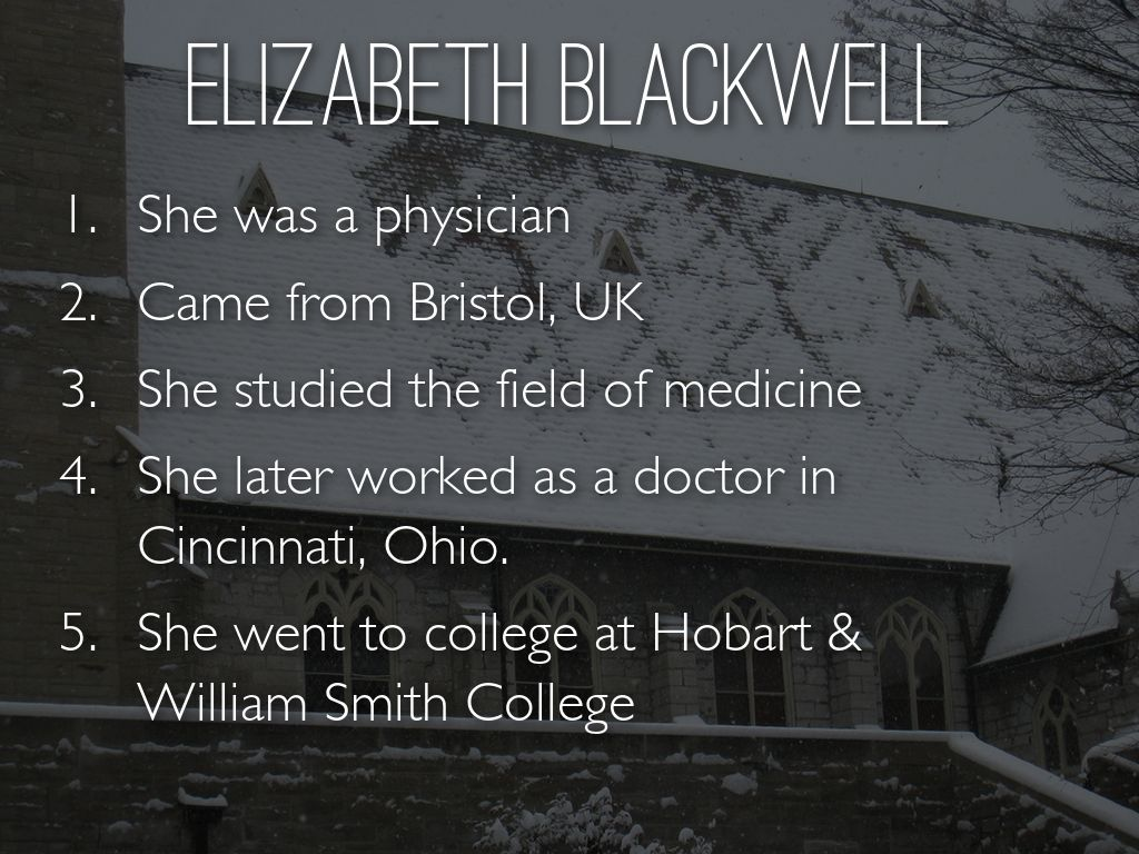 a biography of elizabeth blackwell a nurse in the american civil war Led by elizabeth blackwell, resulted in the formation of the women's central association for relief the dilemma of american nursing, 1850-1945 cambridge: cambridge up, 1987 whitman, walt walt whitman's civil war ed walter lowenfels new york: knopf.