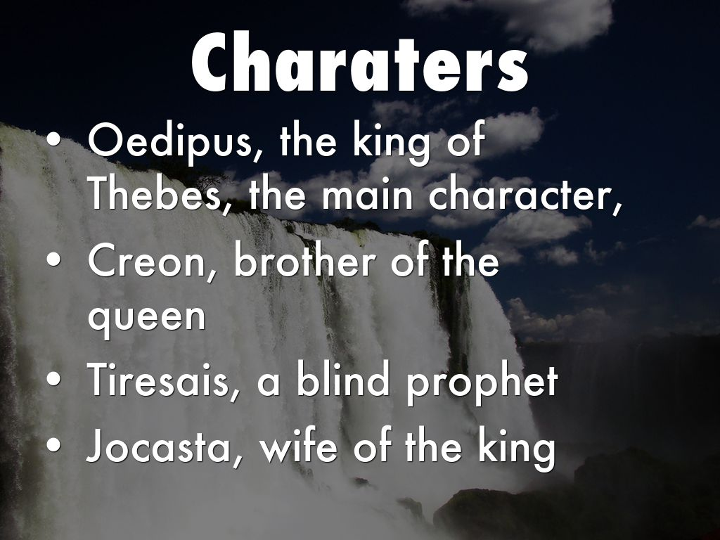 jocasta in oedipus the king essay Essay sophocles oedipus the king is a oedipus was the child of jocasta and king laius who was taken to the mountain by a shepard to be killed so the omen.