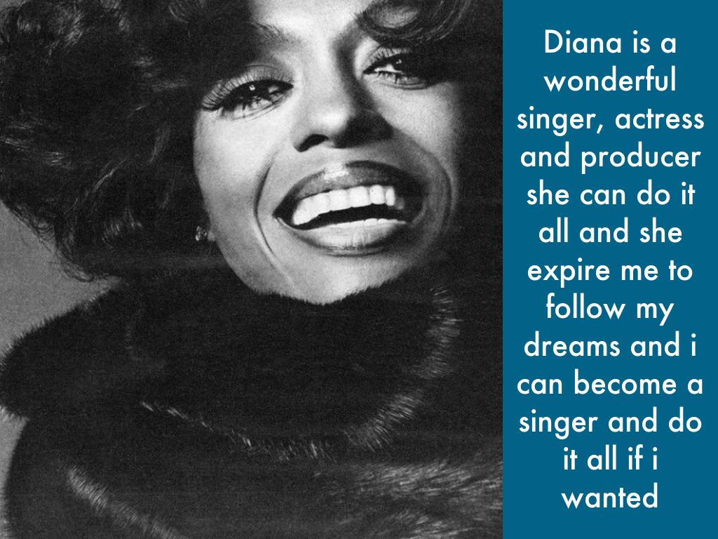 diana ross producer