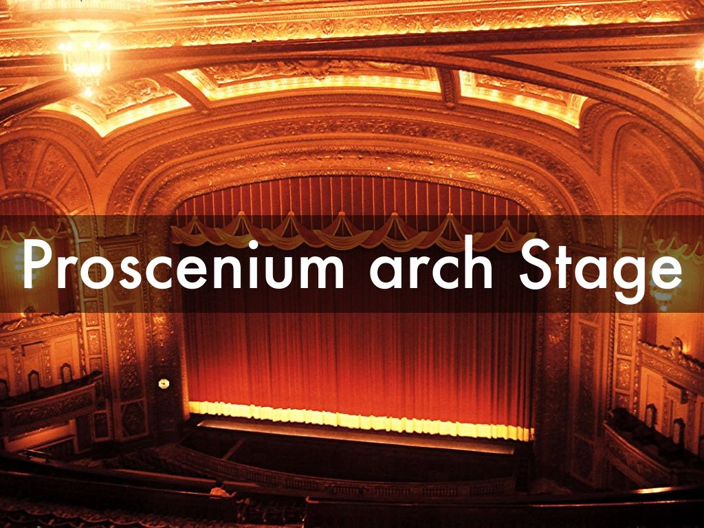 proscenium and end-on theatres by Nathan gregory