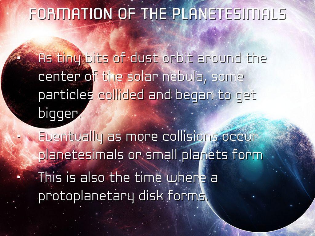 Nebular Hypothesis Storyboard by Julia Guptail