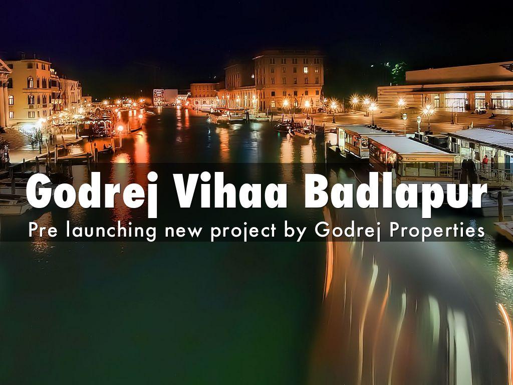 Godrej Vihaa Badlapur