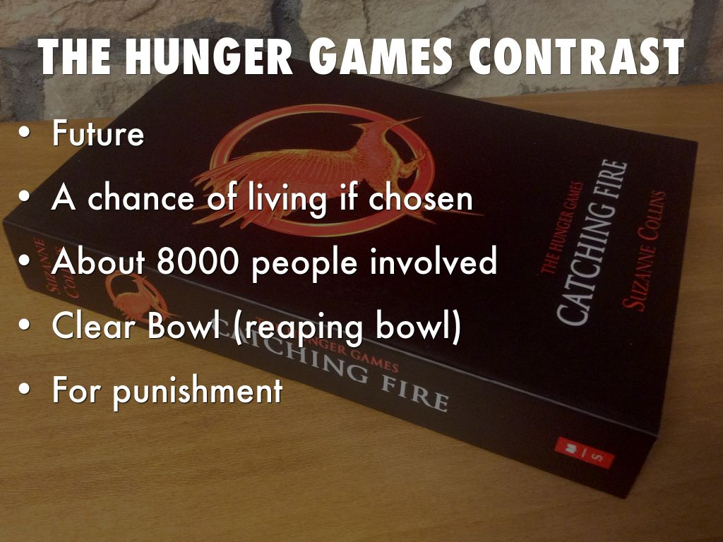 the lottery vs the hunger games