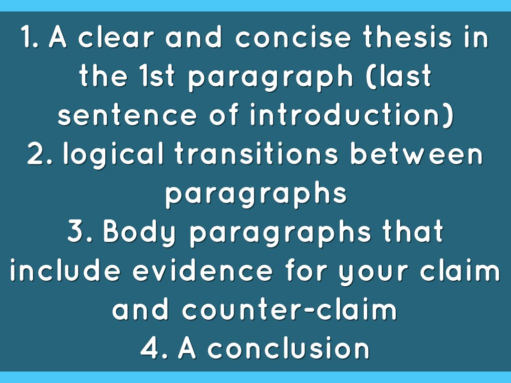 counter thesis