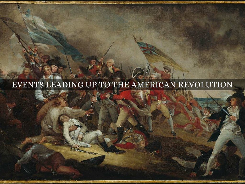 account of the events leading to the american revolution The causes and events leading to the american revolution can be challenging for students support your students throughout the unit with this resource your students will begin the lesson with vocabulary development on the key terms for.