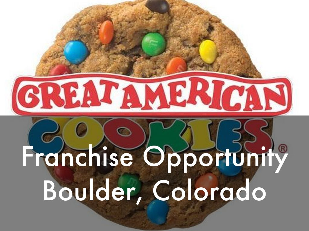 Great American Cookies Opportunity in Boulder, Colorado!