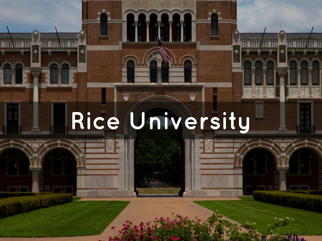 rice university essays that worked Lacy m johnson is an assistant professor of english at rice university she is the author of the other side and trespasses: a memoir she is also co-artistic director of the location-based storytelling project [the invisible city.