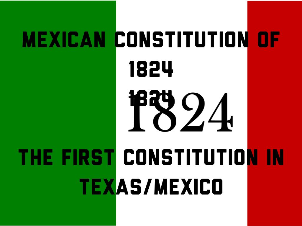 mexicos first constitution
