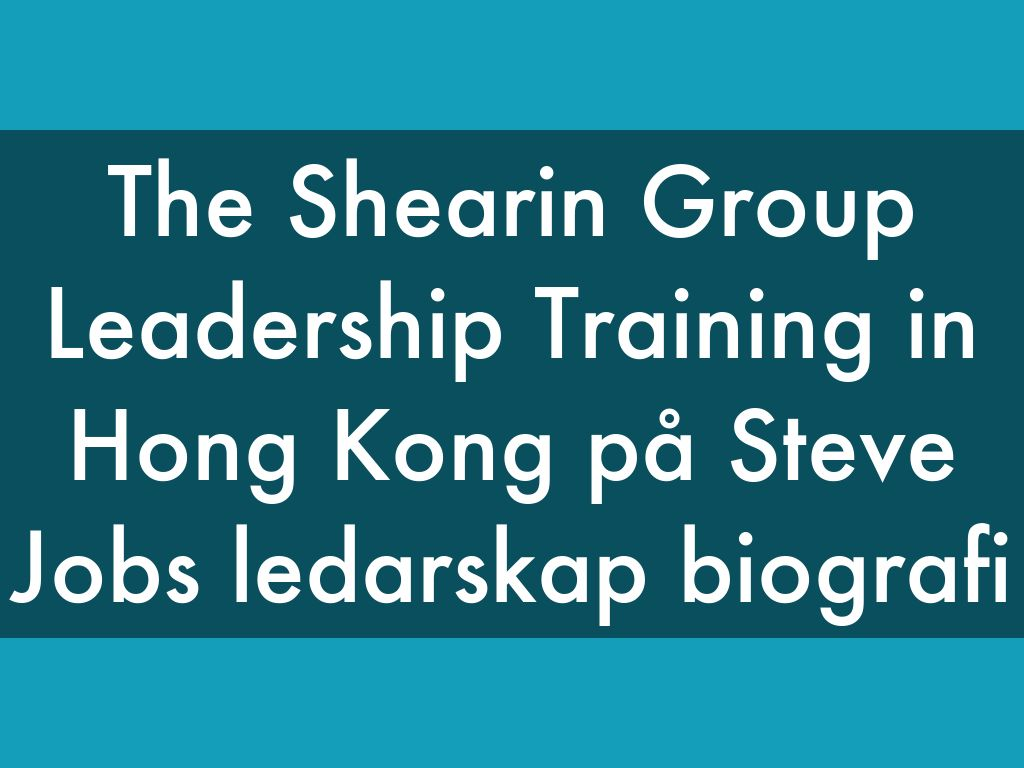 the shearin group leadership training tips