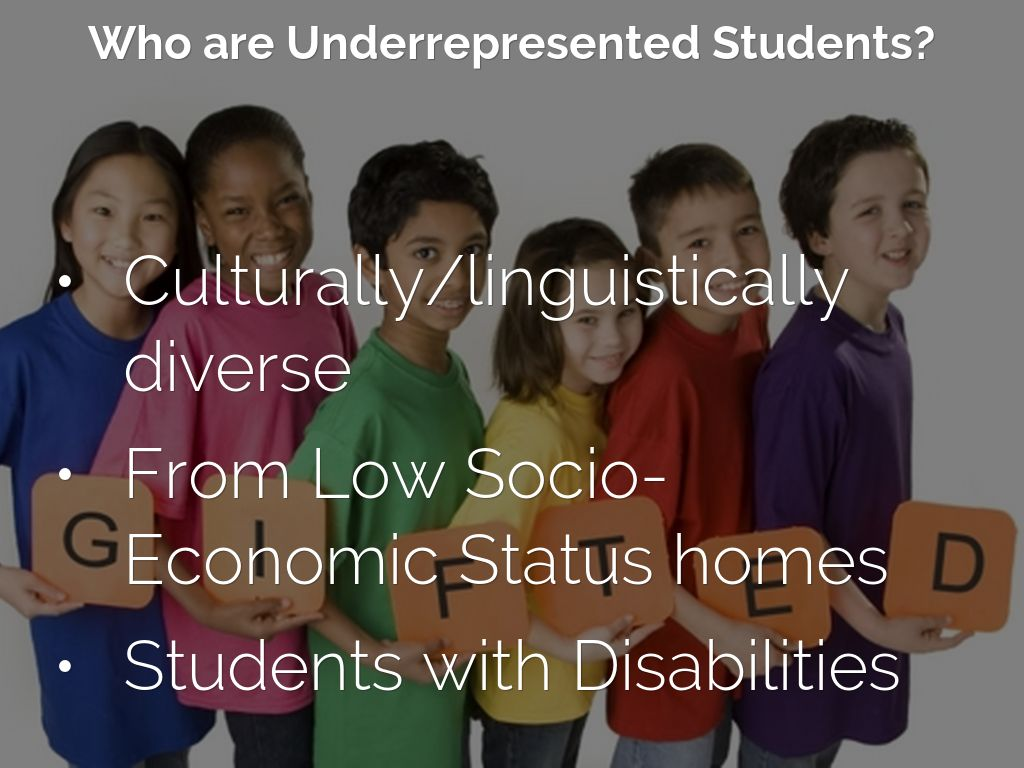 culturally diverse students Still, there's another gap that often goes unexamined: the cultural gap between students culture in the classroom and ethnically diverse students.