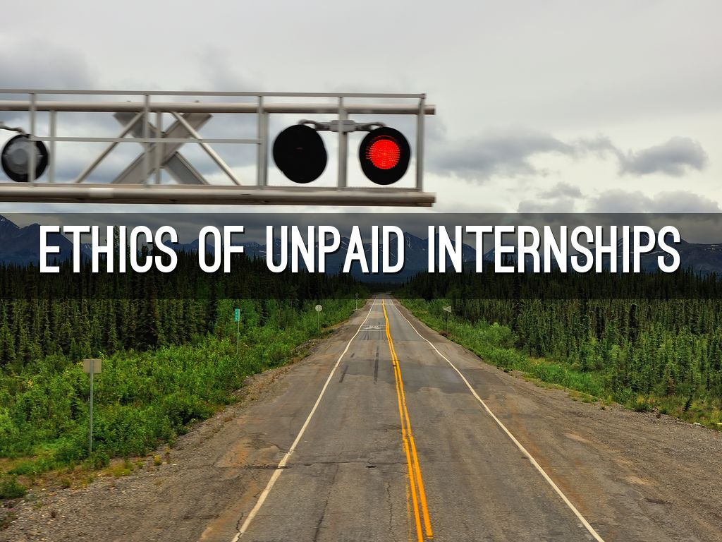 are unpaid internships ethical
