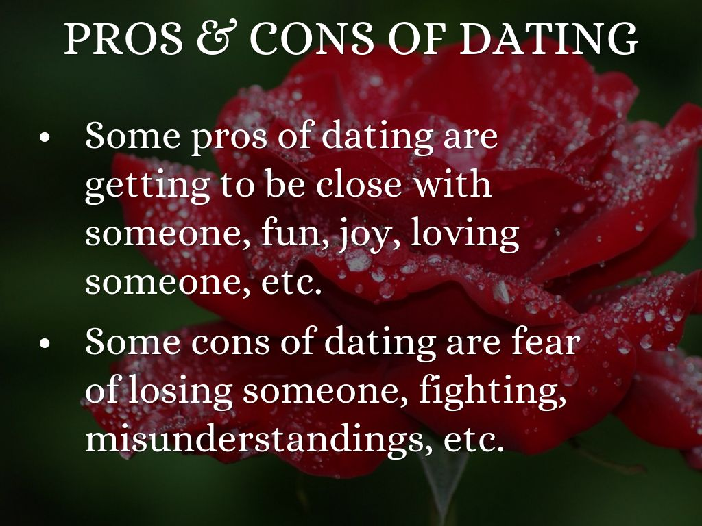 Dating a shy girl pros and cons