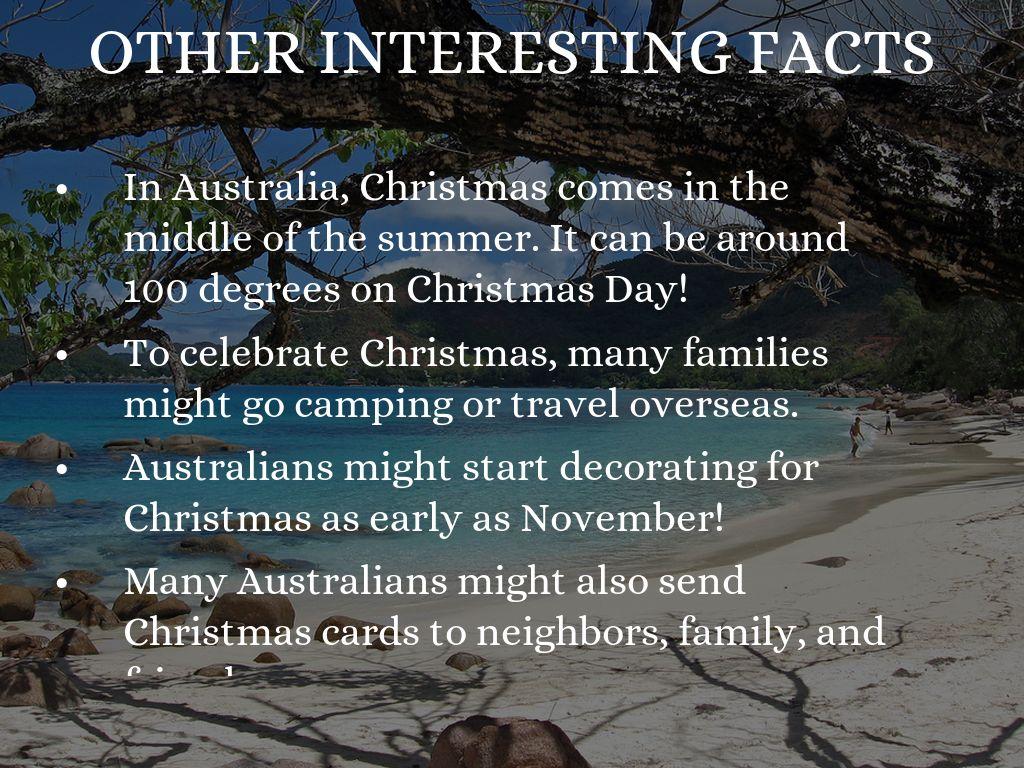 Christmas Camping Australia.Christmas In Australia By Brooklyn G