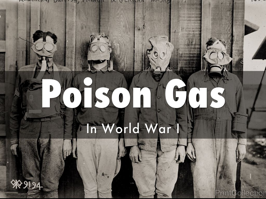 poison gas in ww1 essay Introduction of poison gas the debut of the first poison gas however - in this instance, chlorine - came on 22 april 1915, at the start of the second battle of ypres at this stage of the war the famed ypres salient, held by the british, canadians and french, ran for some 10 miles and bulged into german occupied territory for five miles.