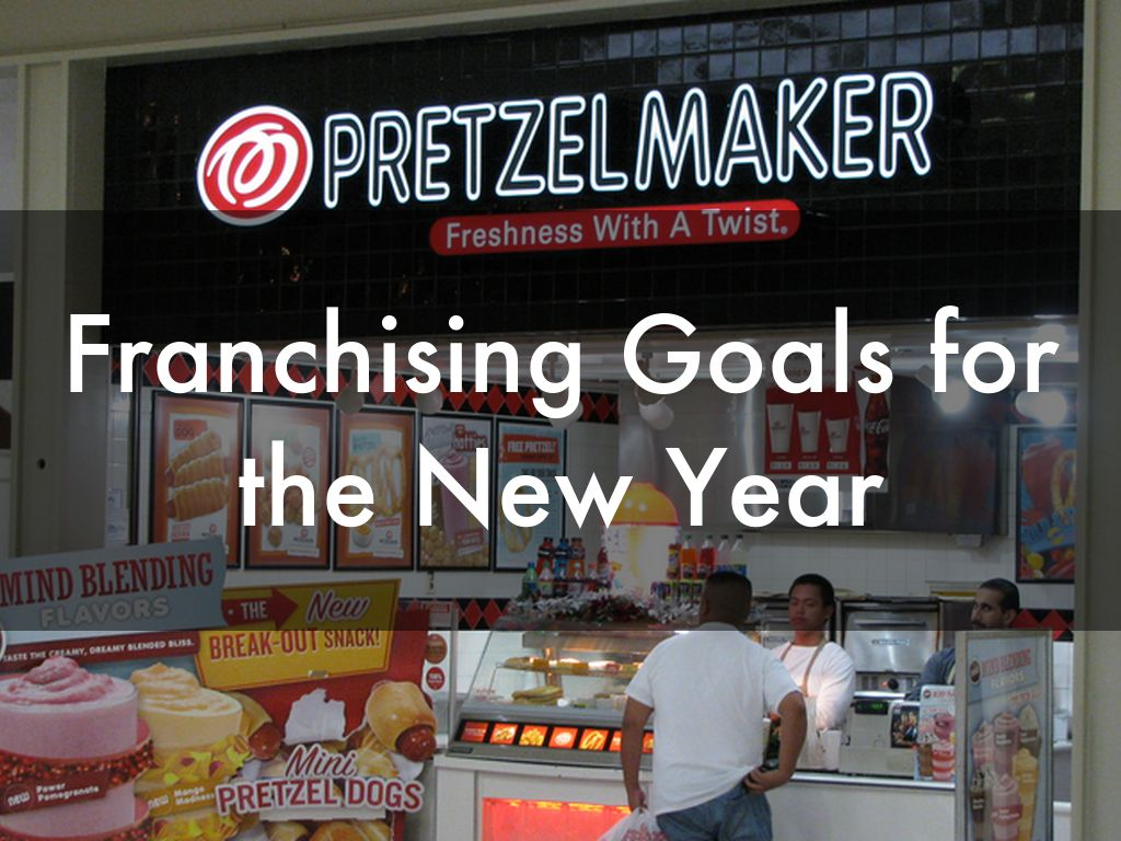 Franchising Goals for the New Year