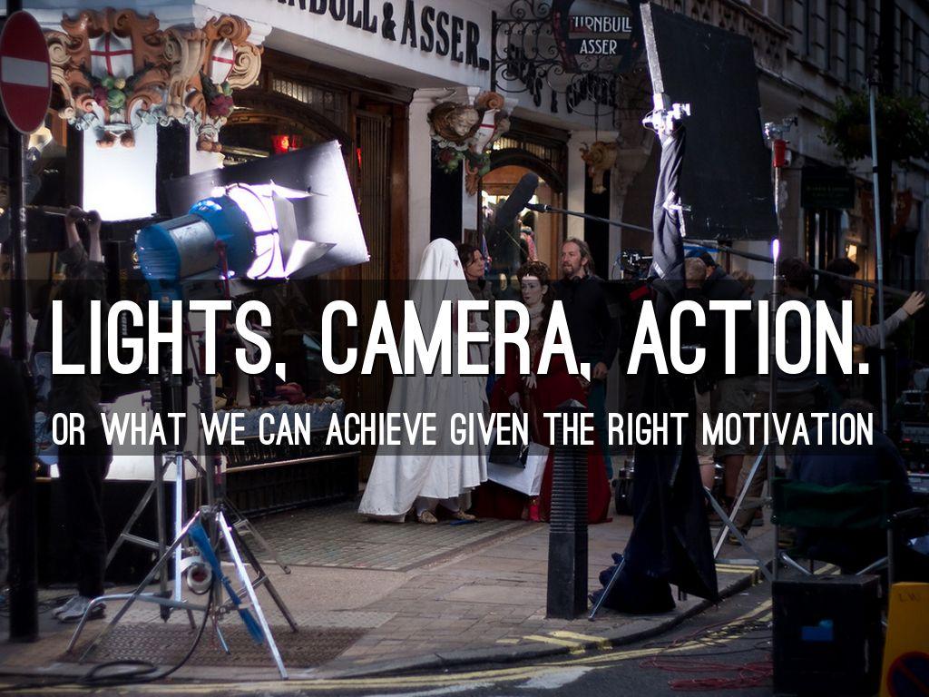 Lights Camera Action By Khalid Raffali