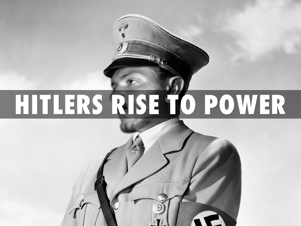 hitlers rise