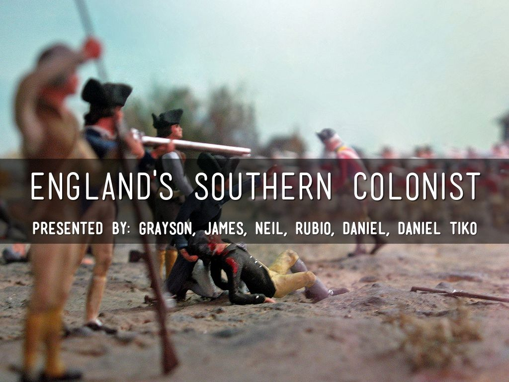 England's Southern Colonist