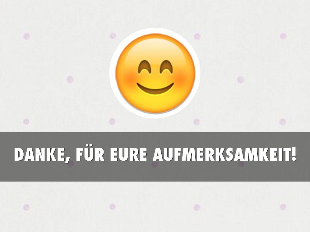 Für smiley aufmerksamkeit eure dank vielen Danke Fur