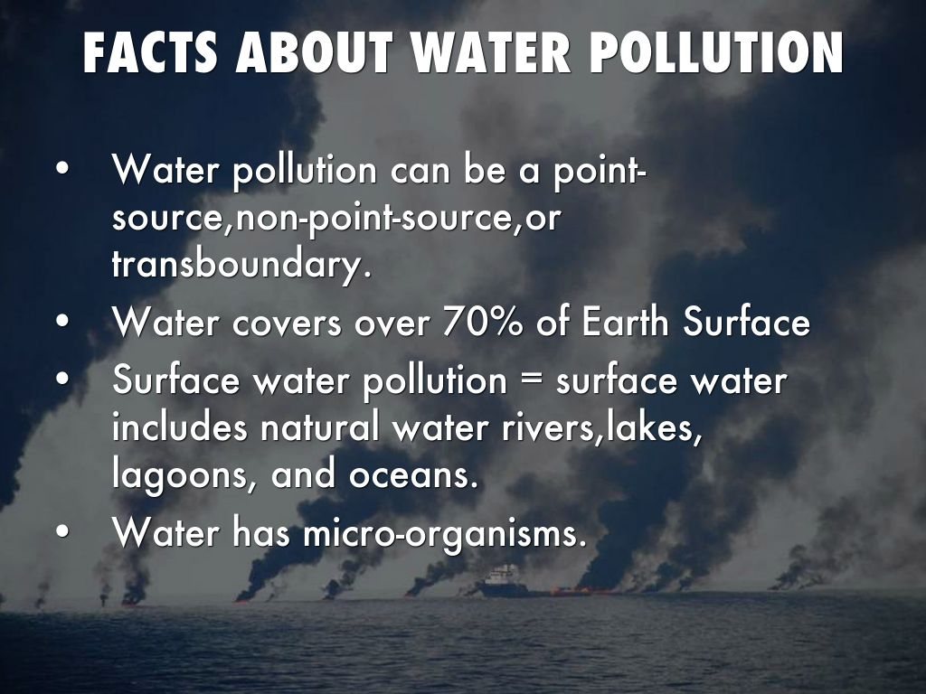 what is water pollution pdf
