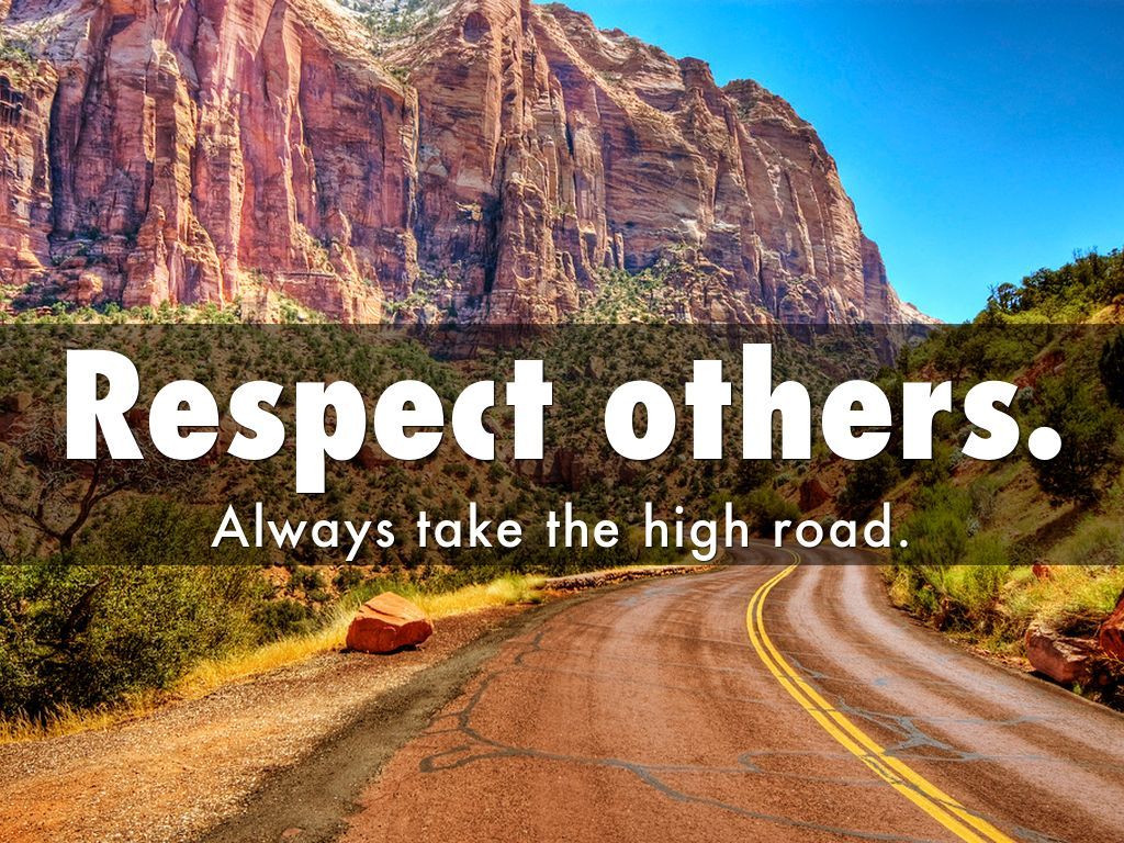 respect others