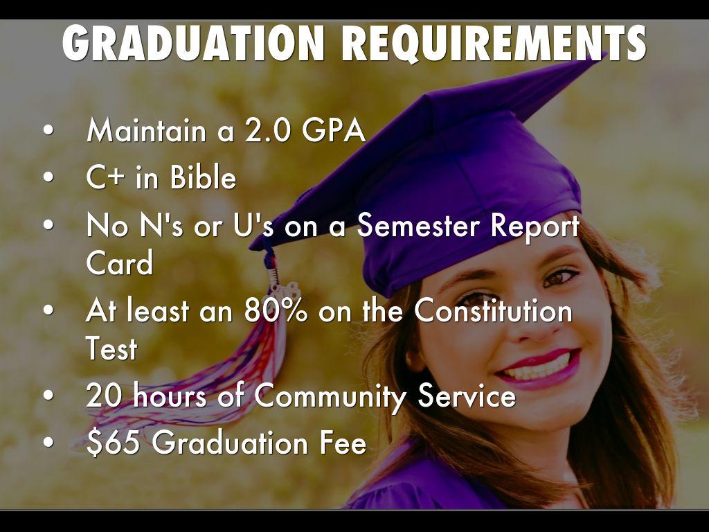 community service as a graduation requirement
