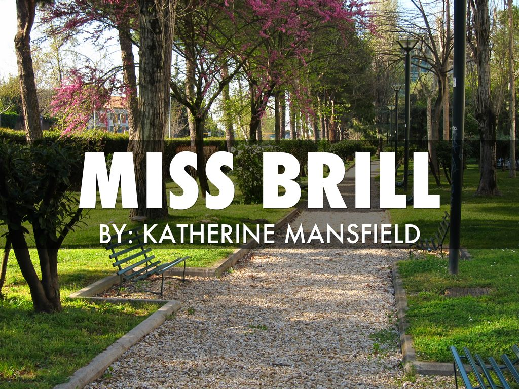 miss brill by katherine mansfield point of view