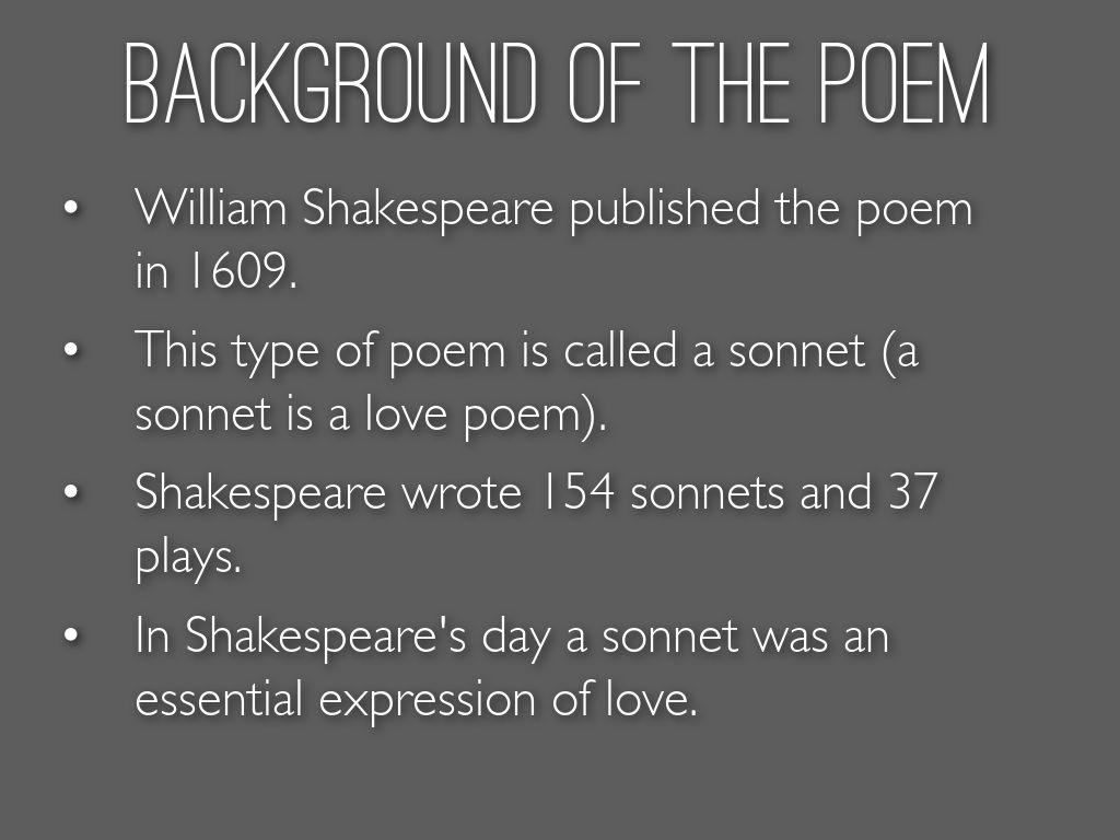 when was sonnet 116 written