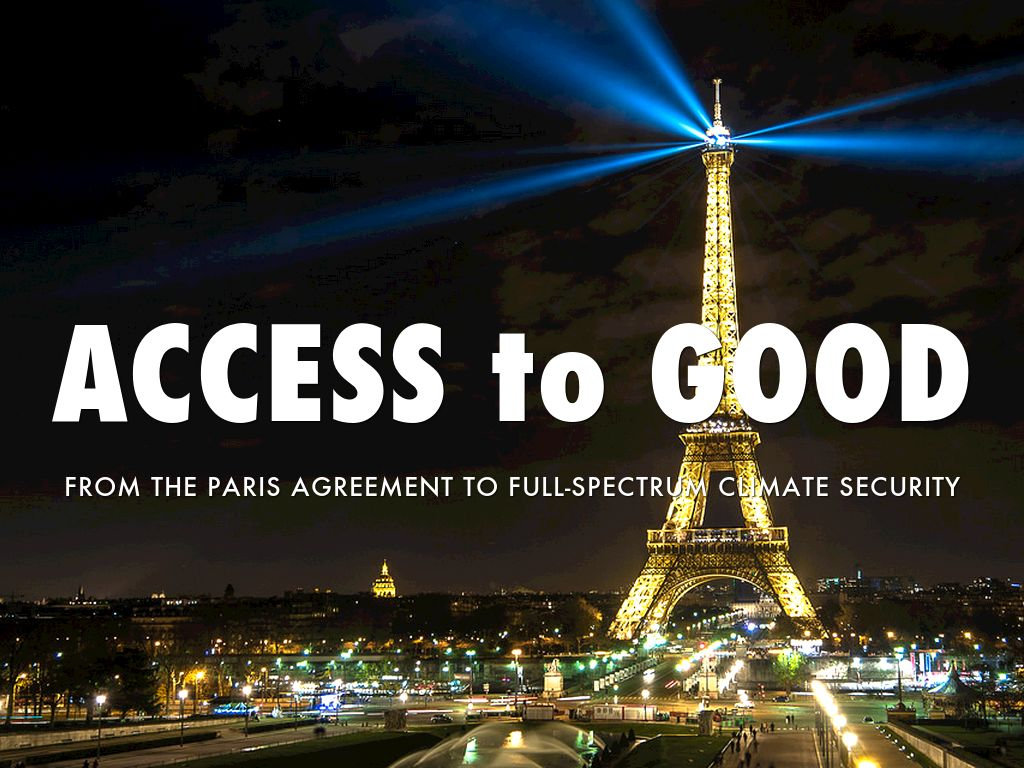 ACCESS to GOOD