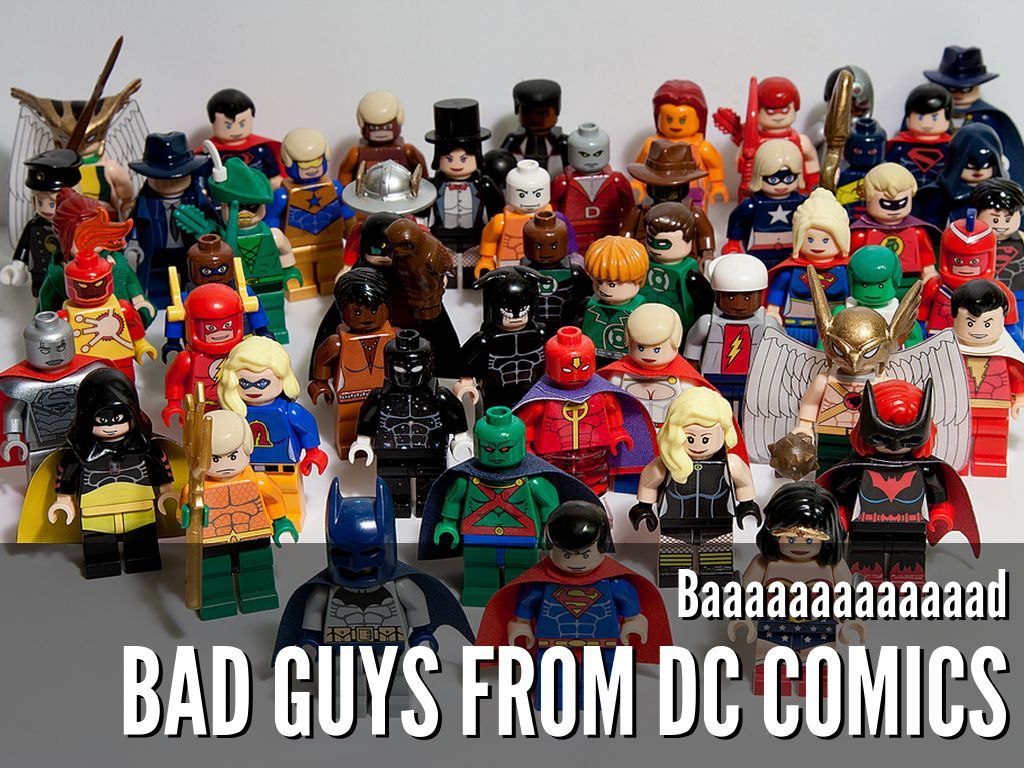 Bad Guys From Dc Comics By Barry Allen
