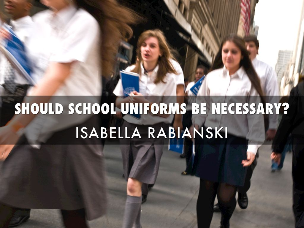 are school uniforms necessary As a university student, i believe that wearing a uniform to school is necessary due to many reasons.