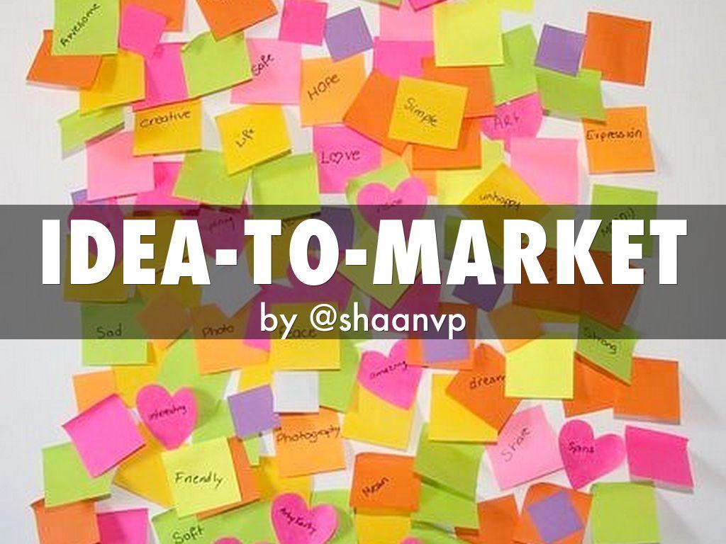 idea-to-market