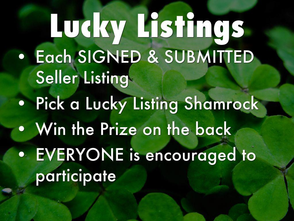 Lucky Listings