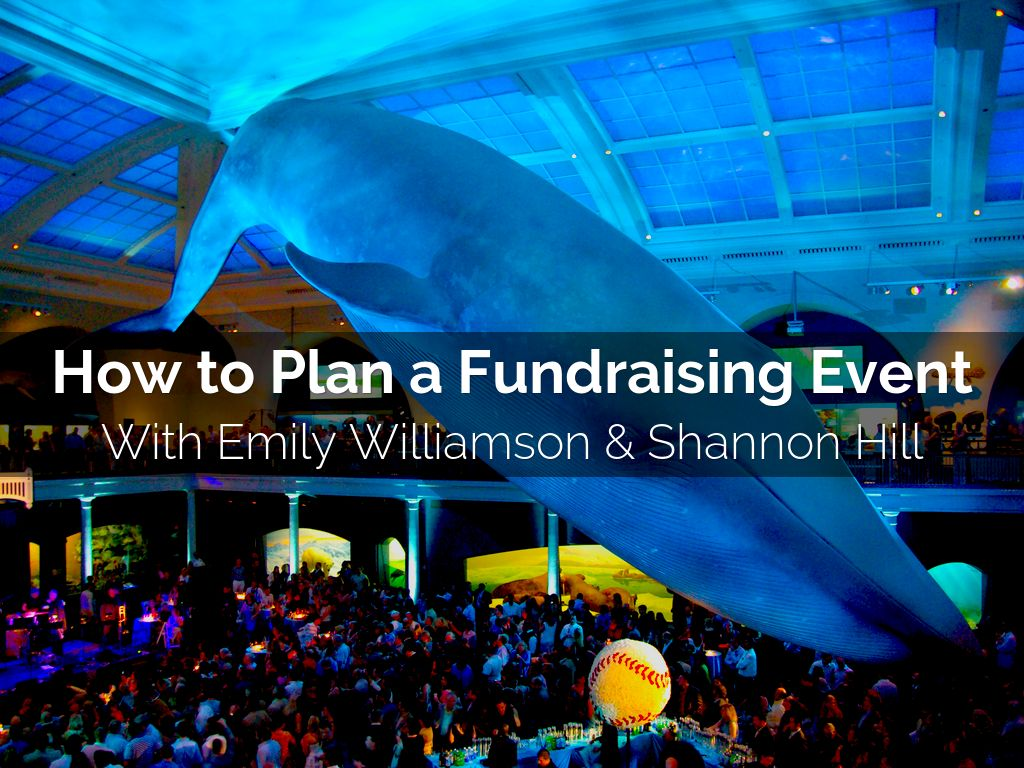How to Plan a Fundraising Event