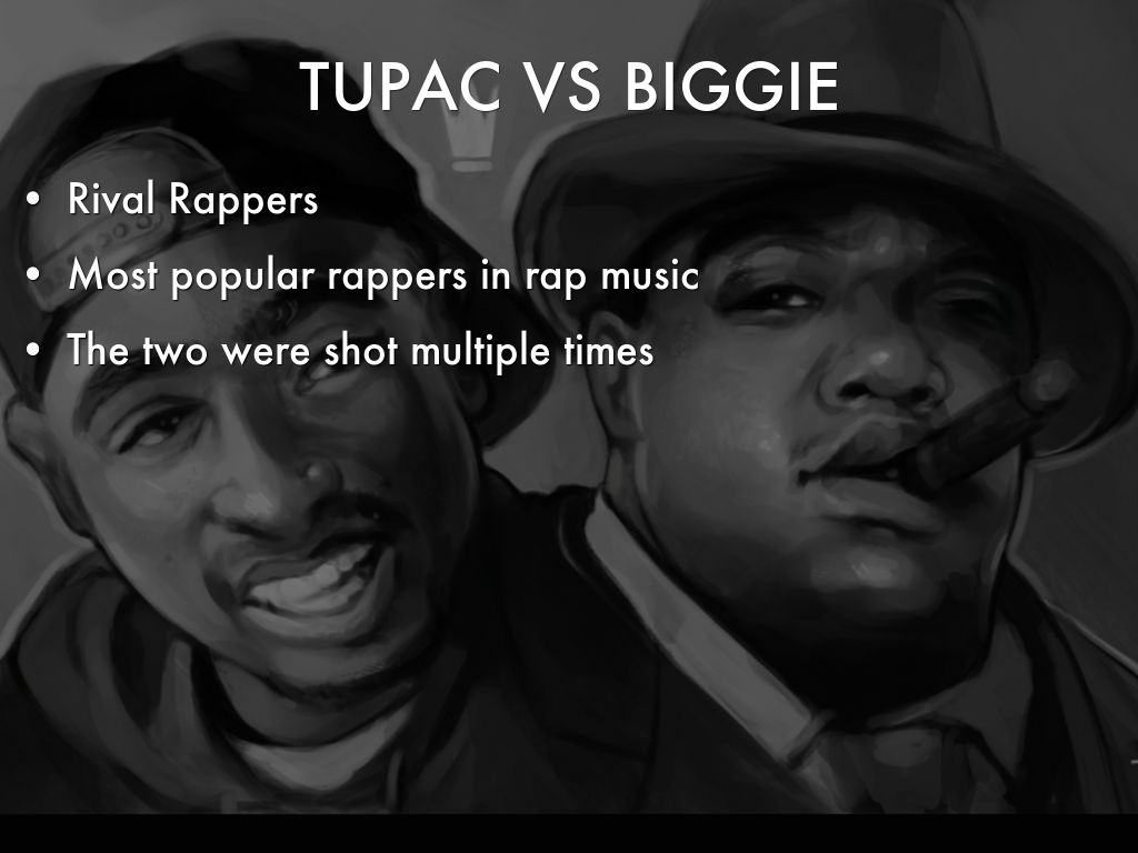 tupac and biggie essays Read the pros and cons of the debate tupac vs biggie who was the best rapper.