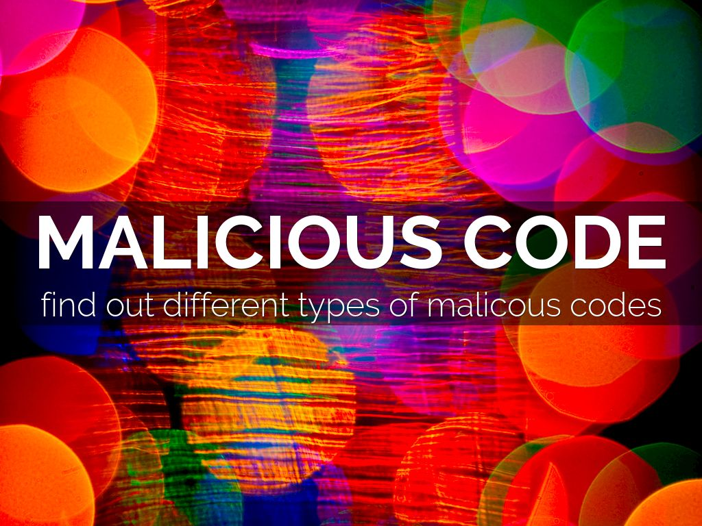 A description of computer virus and the various types of software malicious codes