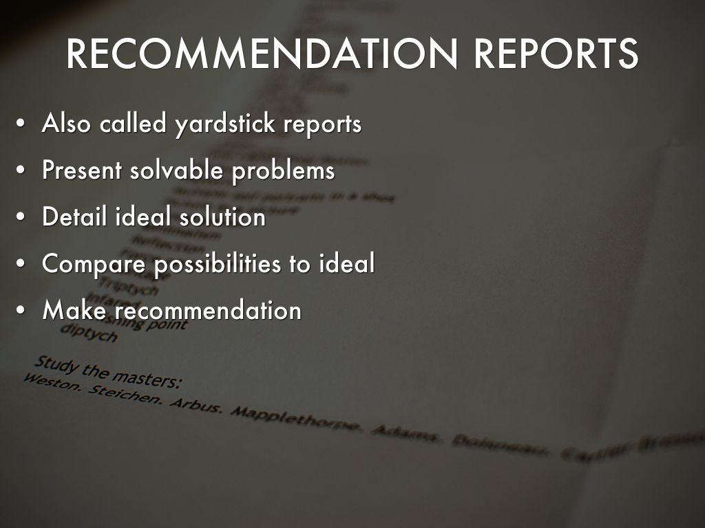 yardstick reports