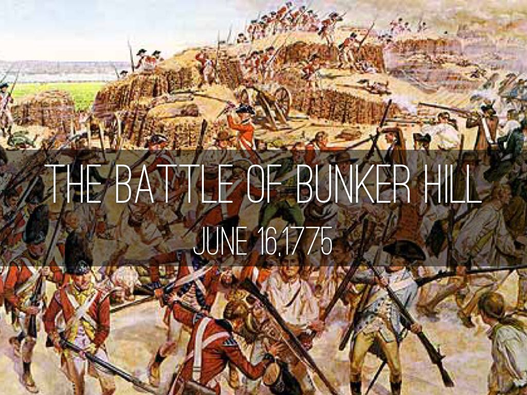Image result for the battle of bunker hill