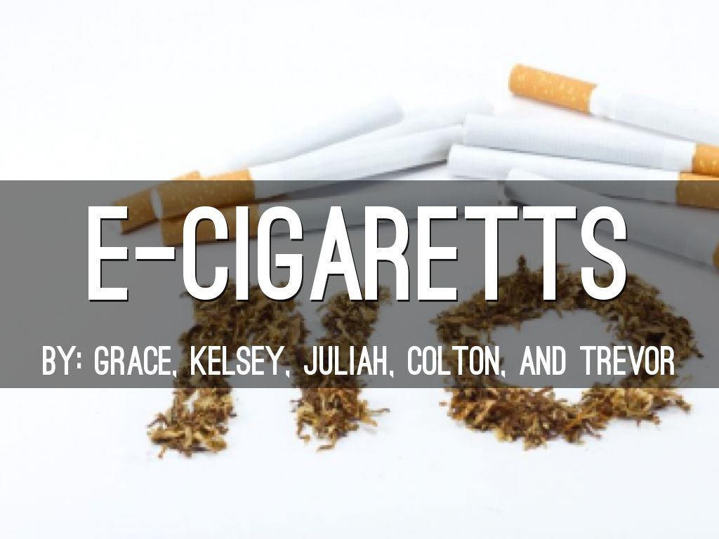 Effects Of E-cigarettes
