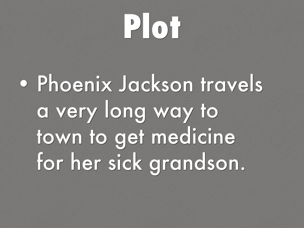 the journey of phoenix jackson in a worn path by eudora welty This one-page guide includes a plot summary and brief analysis of a worn path by eudora welty phoenix jackson  this is the purpose of phoenix's journey.