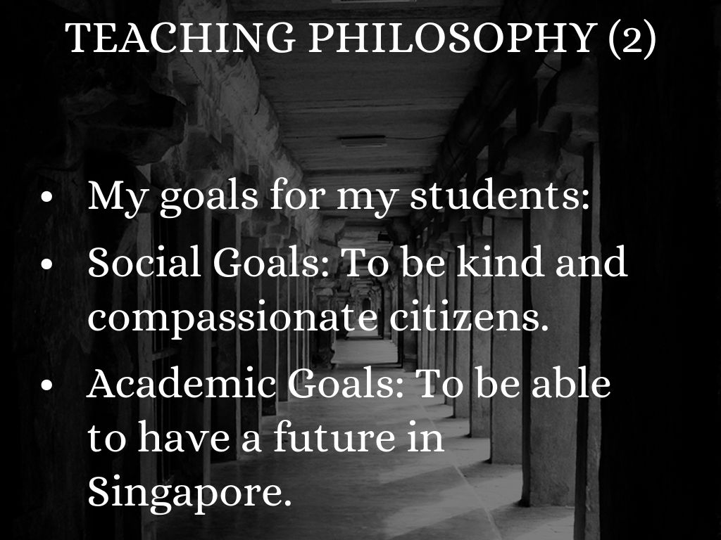 goals and philosophy Philosophy and goals the school corporation recognizes that it has responsibility for educating all students in the district, regardless of their abilities, race.