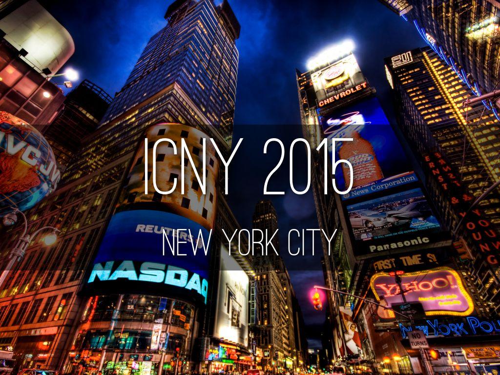 ICNY 2015