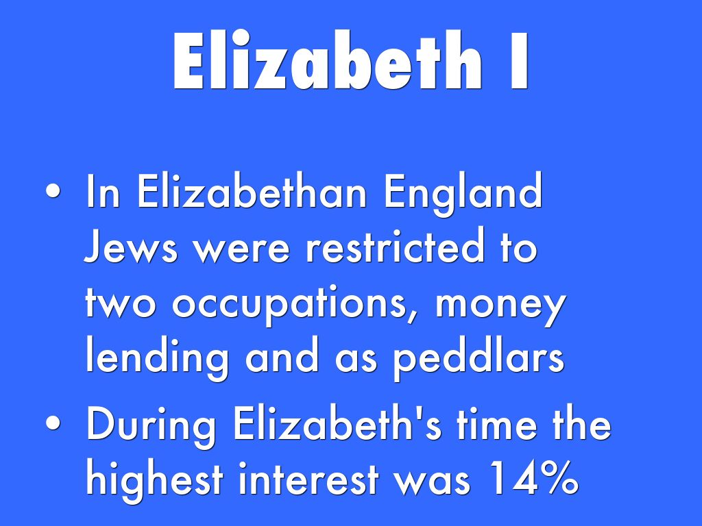 a study of the discrimination of jews during the elizabethan era View and download study guides for our mainstage performances religion in elizabethan england the elizabethan era, during which shakespeare lived and.