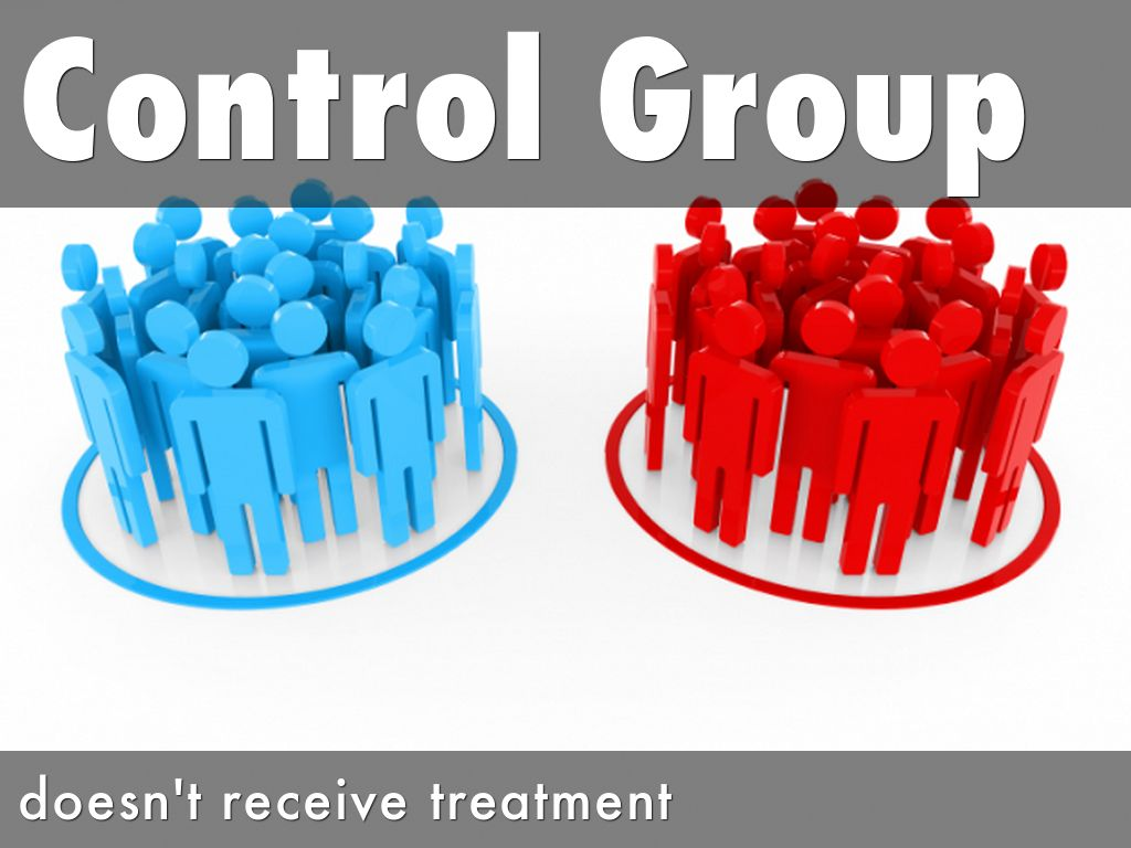 how to create a control group