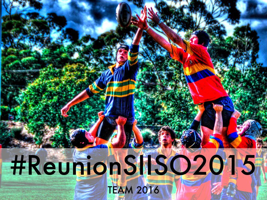 #ReunionSIISO2015