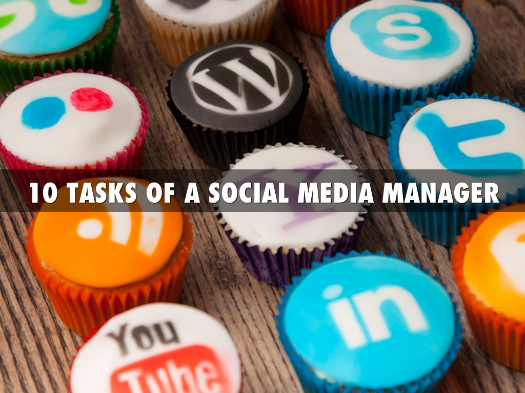 10 TASKS OF A SOCIAL MEDIA MANAGER