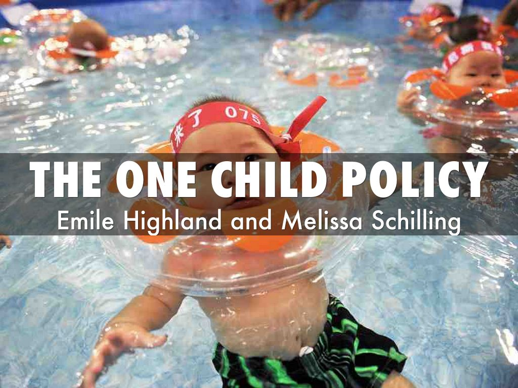 The One Child Policy By 19schme