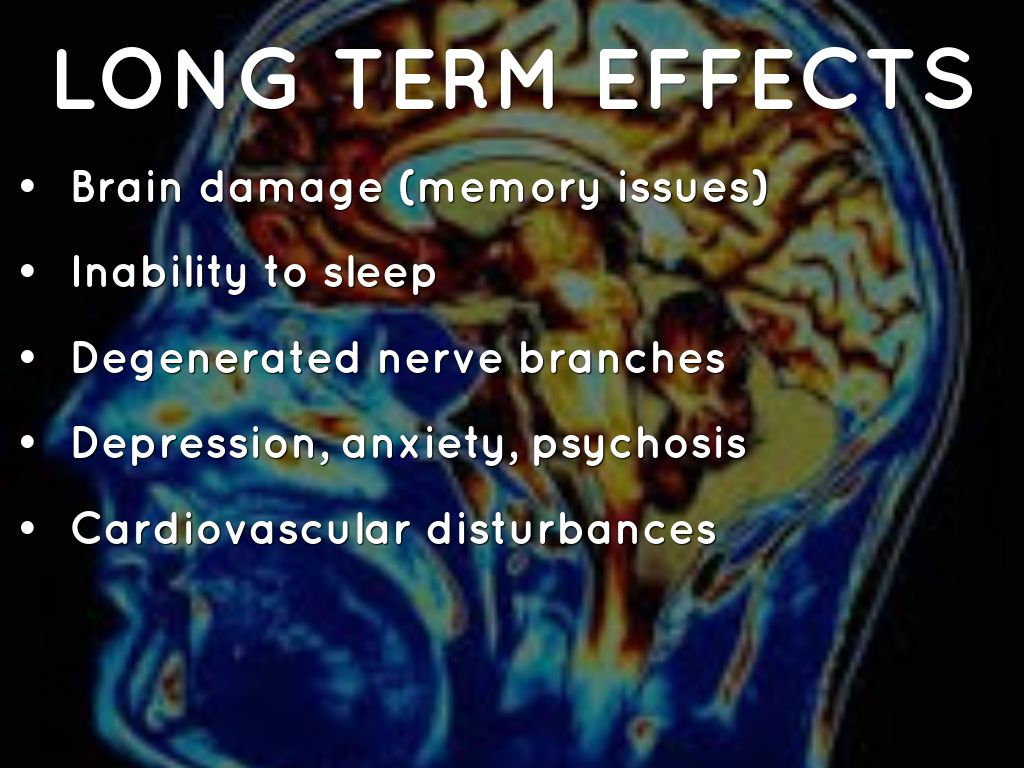 what are the long term effects The effects of long-term benzodiazepine use include drug dependence as well as the possibility of adverse effects on cognitive function, physical health, and mental health.