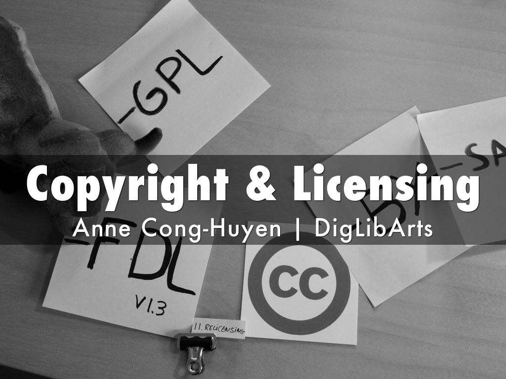 Copyright & Licensing