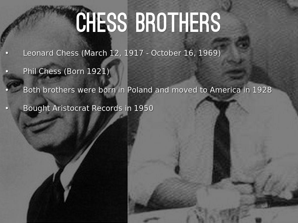 Etta james and leonard chess